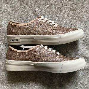 J Crew Legend Sneaker Sparkle size 7